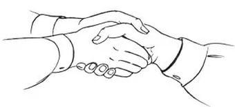 что означает рукопожатие мужчины и женщины при знакомстве